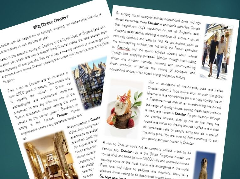 KS2 Persuasive Travel Writing Complete Unit of Work. Incl: WAGOLL, Reading  and Writing Tasks.