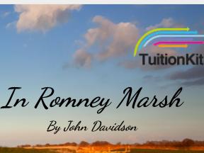 In Romney Marsh - by John Davidson (SMILE Analysis points)