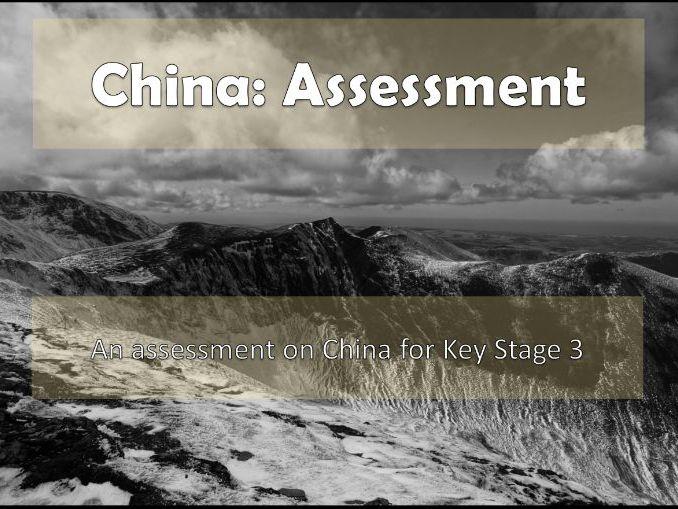 KS3 China Assessment