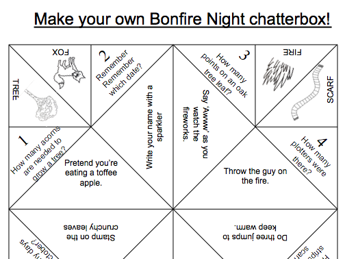 Bonfire Night Chatterboxes