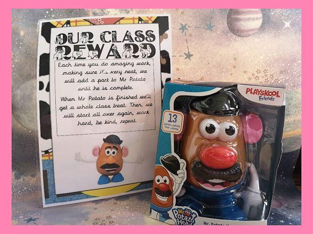 Mr Potato Head Behaviour Management
