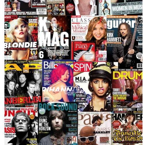Full Scheme of Work for Media or English exploring Music Magazines