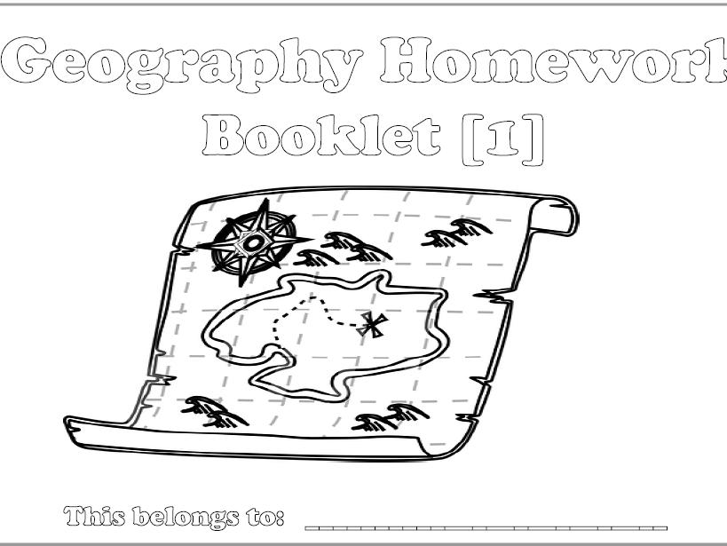 KS3 Interactive Geog Homework Booklets 1