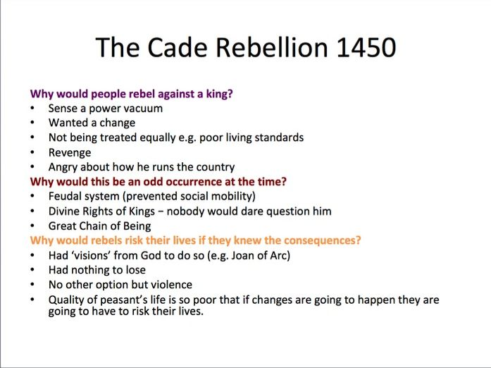 AQA A-Level History Wars of the Roses PPT