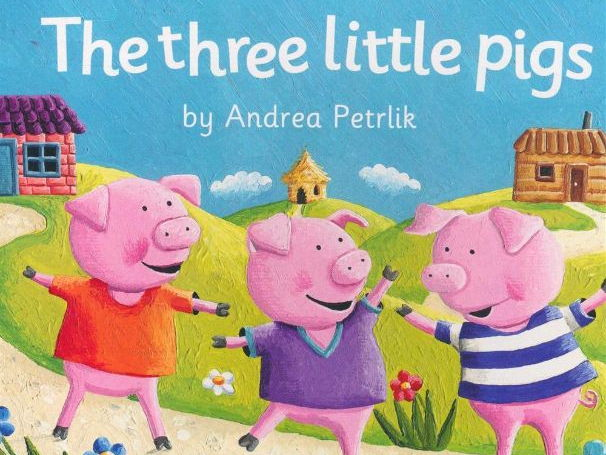 Year 1 Writing Planning: The three little Pigs (Week 1 out of 2)