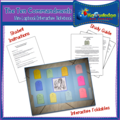 The Ten Commandments Mini-Lapbook