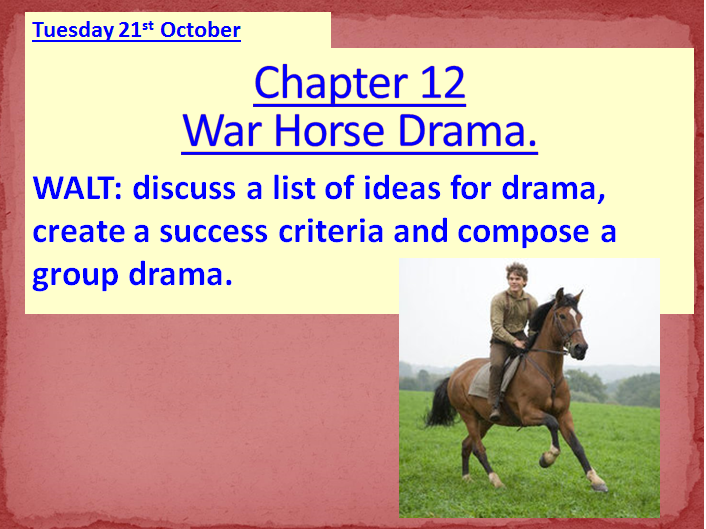 War Horse by Michael Morpurgo ~ Ready-to-use lessons for Chapters 12 - 22 **NEW & UPDATED**