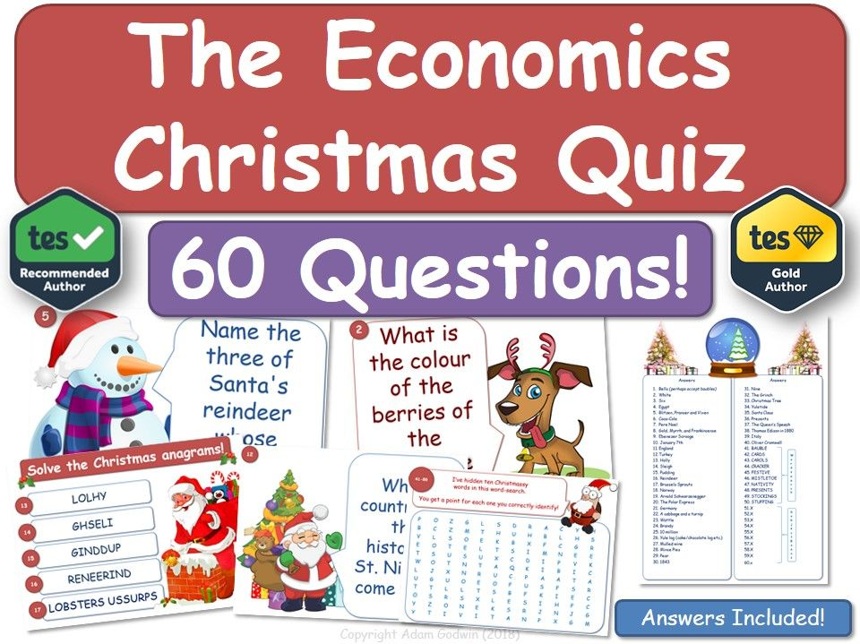 Economics Christmas Quiz