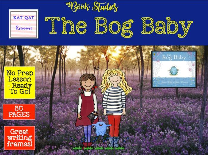 The Bog Baby - Book Study - Editable and PDF version