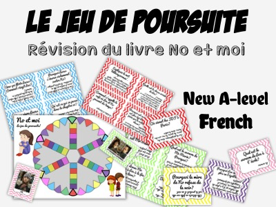 No et moi - BOOK STUDY - Le jeu de Poursuite - Revision of the entire book!!!