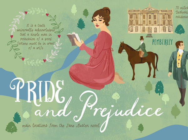 The characters of Bingley and Jane in Pride and Prejudice