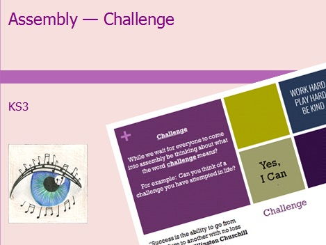 KS3 Assembly - Challenge
