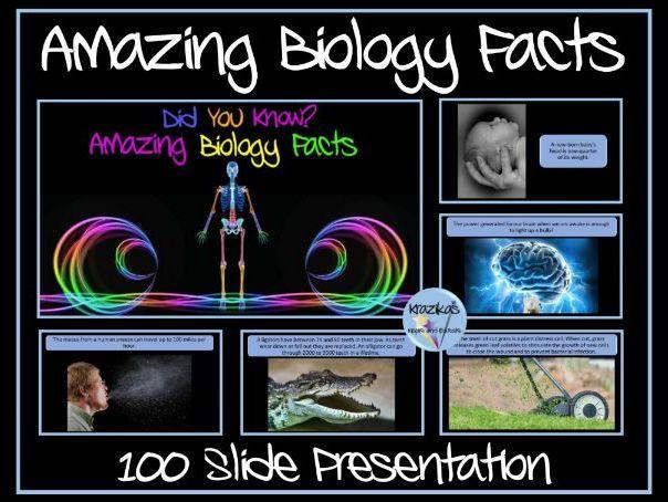 Biology Facts Presentation