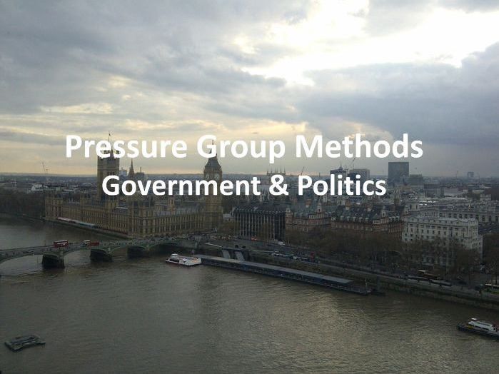 Pressure Group Methods