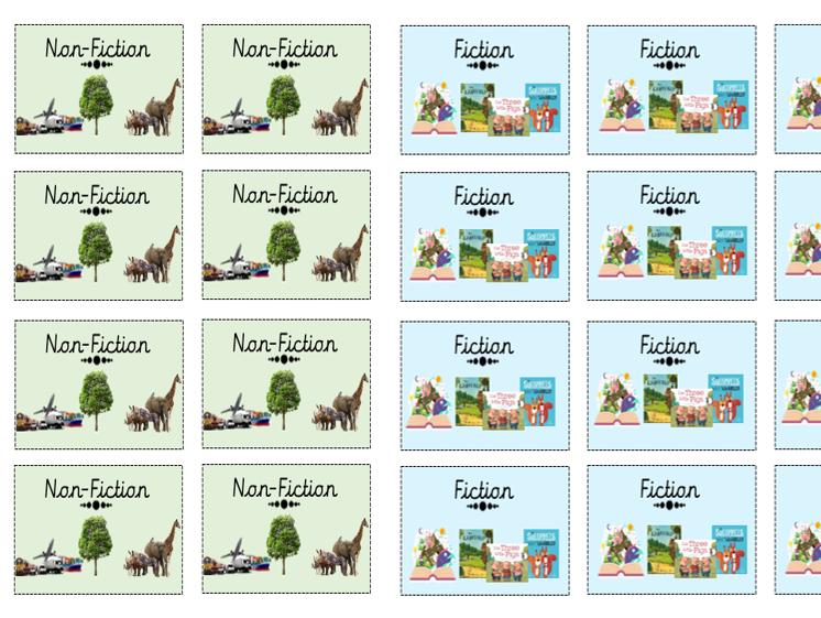 Fiction/Non Fiction labels