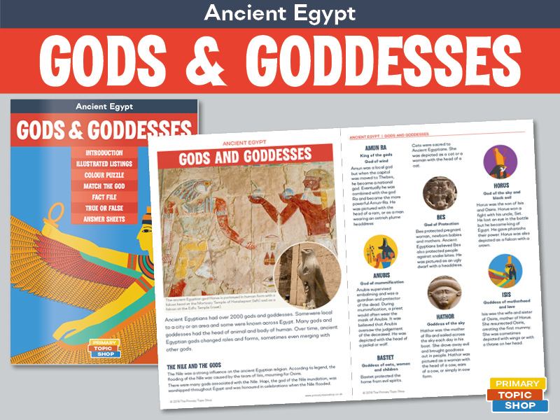Ancient Egypt - Gods and Goddesses