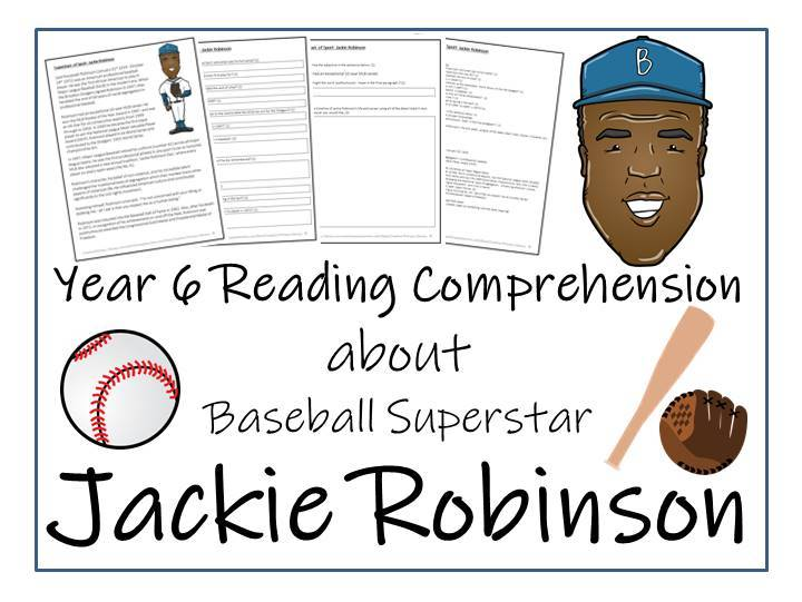Jackie Robinson Reading Comprehension