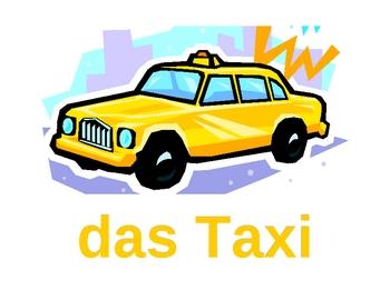 Fahrzeuge (Vehicles in German) Posters