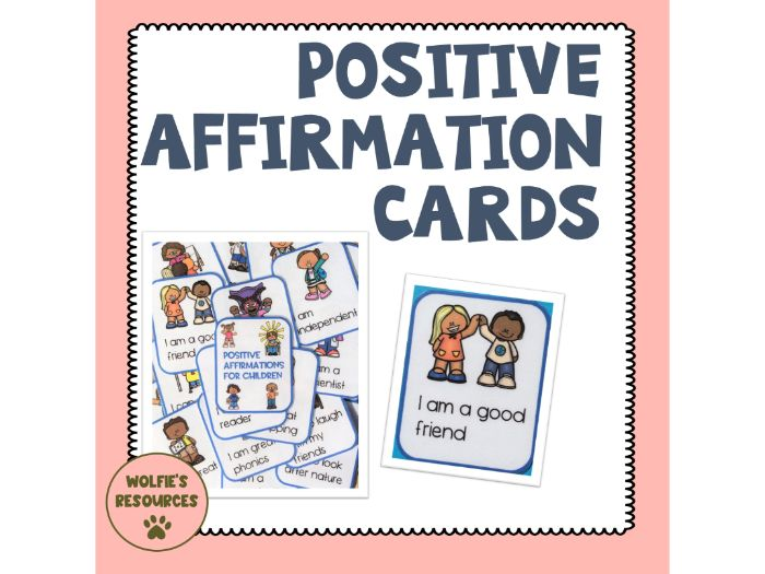 Positive Affirmation Cards