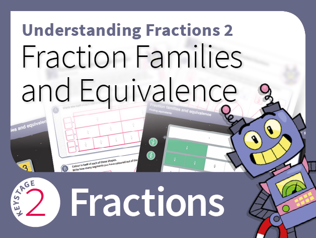 Understanding Fractions 2: Fraction families and equivalence