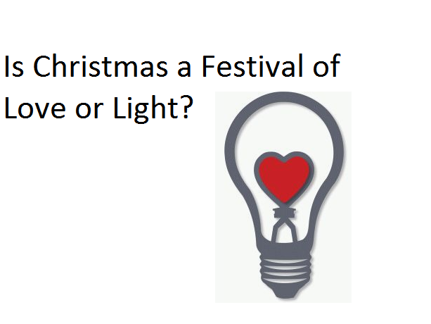 Year 4 RE Planning - Is Christmas a festival of light or love?