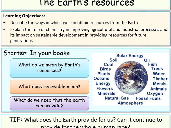 Using resources