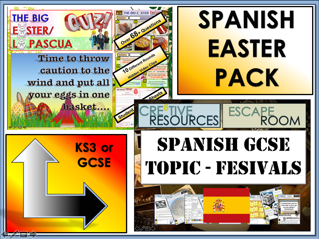 Easter MFL Spanish Bundle