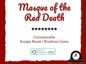 Masque of the Red Death Customizable Escape Room Game