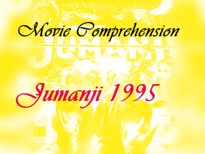 Movie Jumanji 1995 Comprehension quiz worksheet with Key