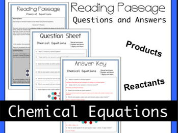 Chemical Equations (Word and Symbol) Theory