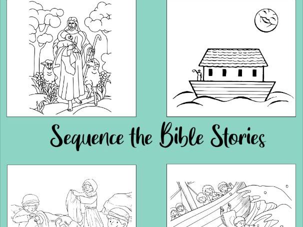 6 Bible Stories to Sequence