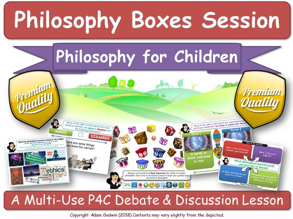 'Philosophy, Ethics & Computers' - IT ICT Computing VR AI Automation [Philosophy Boxes] KS1-3 (P4C)