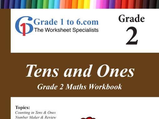 Tens & Ones: Grade 2 Maths Workbook from www.Grade1to6.com Books