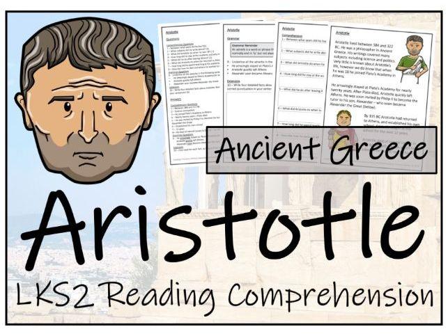 LKS2 Aristotle Reading Comprehension Activity