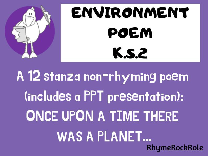 Environment Poem - KS2