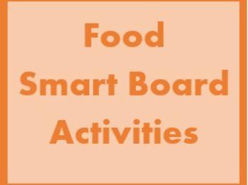 Nourriture (Food in French) Smartboard Activities
