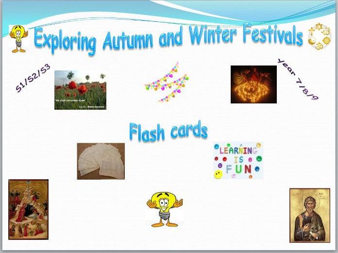 Exploring Festivals Flash Cards