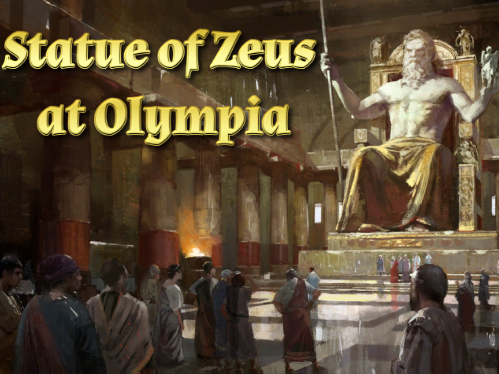 Statue of Zeus at Olympia Audiobook & Activity