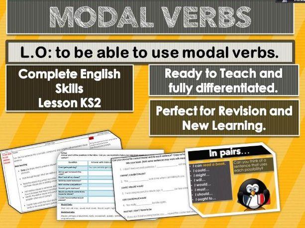 Modal Verbs  Complete skills Lesson  KS2
