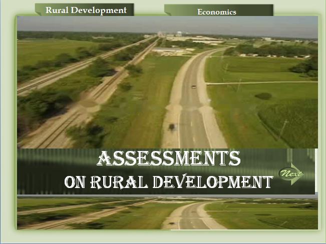 Rural Development (Assessment)