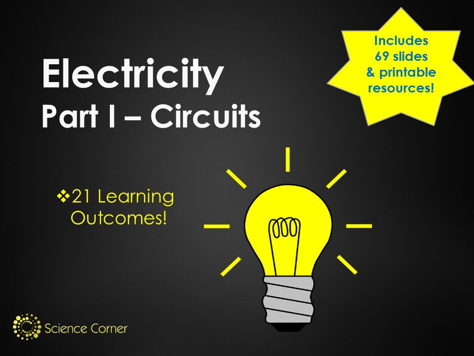 Electricity KS3 Pack - Current, Voltage, Series, Parallel Electric Circuits, Components Y7 Y8