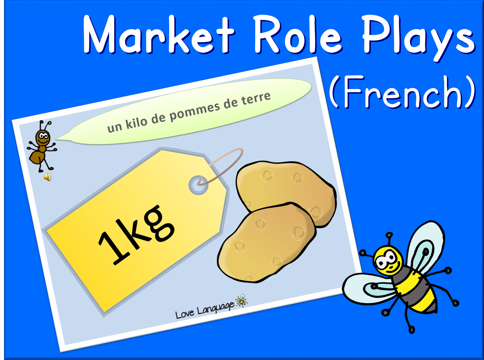 Market role plays in French