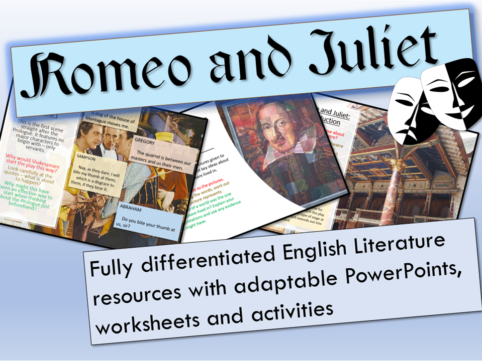Romeo and Juliet Revision Bundle