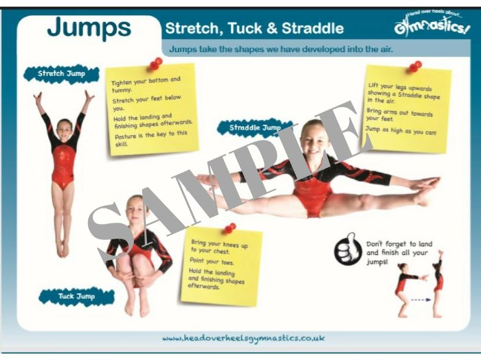 Gymnastics Leaps and Jumps