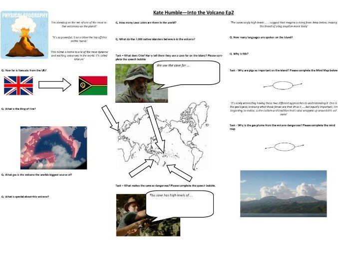 BBC Kate Humble: Into the Volcano Ep2