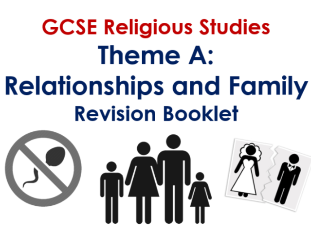 AQA GCSE RS Theme A Revision Guide
