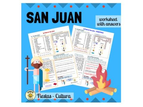 San Juan, Spanish festival. San Juan, los festivales españoles.