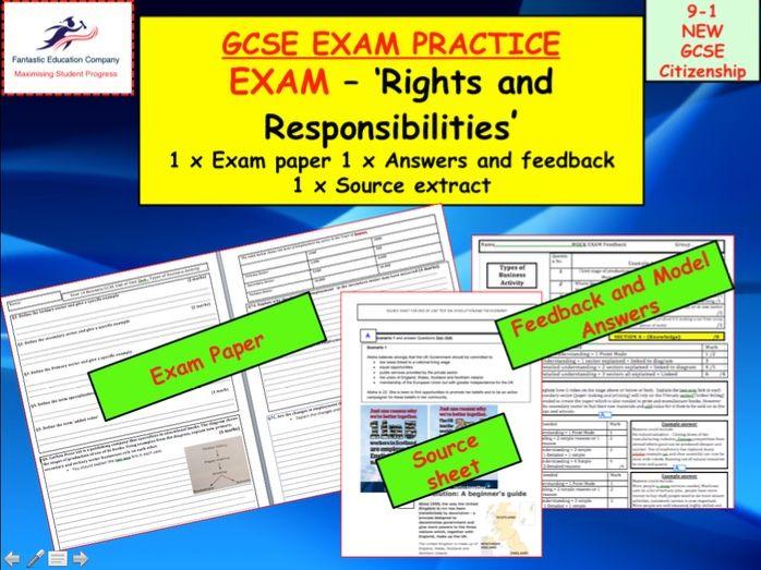 9-1 GCSE Citizenship Assessment