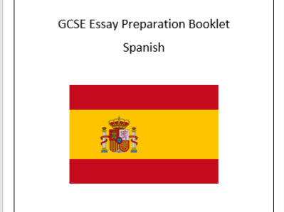 Spanish AQA Essay preparation booklet