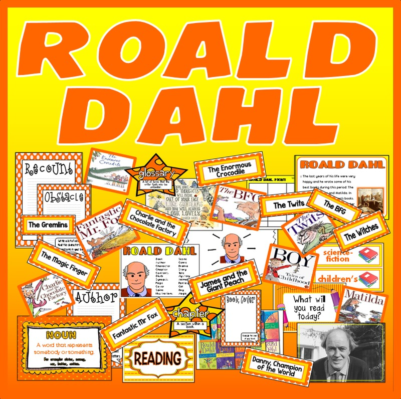 A Day in the Life of Roald Dahl: Tidbits and Trivia Part 2